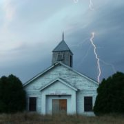 church-lightning-storm